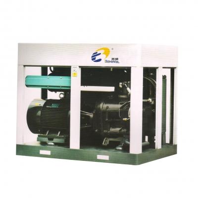 两级压缩永磁变频螺杆空气压缩机