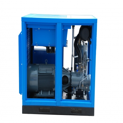 空压机的储气罐里有水怎么办?